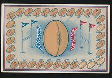 1908 O.P. Chase Andover Football Score Postcard -ANDOVER vs EXETER *RARE*