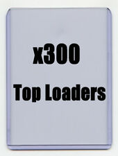 "PRO Safe 3"" x 4"" Standard Card Size TOP LOADERS 300 Ct Like Ultra Pro"