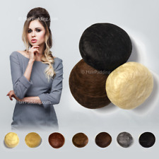 Hair Padding - for Chignon Bun Hair Styles - add Hair Volume Flexible & Moldable
