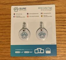 Sure Petcare Rfid Collar Tags 2 pack Col001. Sure Flap Sure Feed