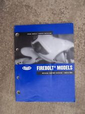2006 Buell Firebolt Motorcycle Parts Catalog Harley LOTS MORE IN OUR STORE  V