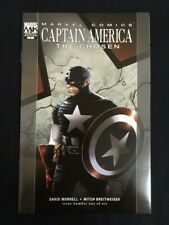 Captain America - The Chosen complete set all 6 issues Marvel Comics 2007 2008