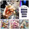 Stiletto Fake Nails Falsche Nägel Nagelkunst Patch Fingernägel Erweiterungen