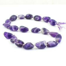 288.00 Cts / 14 Inches Natural Drilled Bi-Color Amethyst Faceted Beads Strand