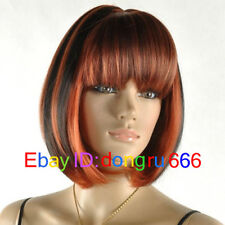 2017 New Hot Sell Beautiful Long Straight bang Cosplay Lady's Hair Full wig wigs