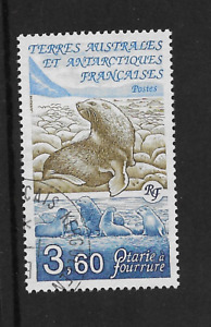 French Colonial- TAAF 1991 Fur Seal  Fine used