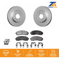 Front Brake Coat Rotors Ceramic Pad Saturn Vue Chevrolet Equinox Pontiac Torrent
