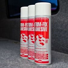 1 CAN TRIMFIX HIGH TEMP SPRAY ADHESIVE 500ML GLUE + FREE POSTAGE