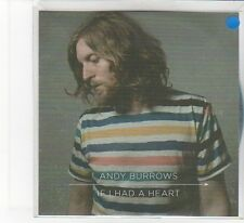 (FB824) Andy Burrows,  If I Had A Heart - 2013 DJ CD