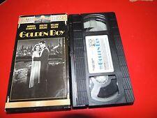 VHS Golden Boy: Barbara Stanwyck Adolphe Menjou William Holden Beddoe Lee J Cobb