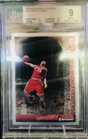POP 8 🔥2005-06 LeBron James TOPPS BOWMAN CHROME #23 BGS 9 with 9.5 subs lakers