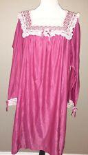 Vintage Barbizon Lingerie Nightgown Sz Xl Usa Made
