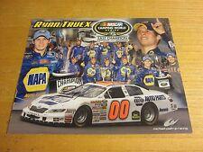 Ryan Truex Driver Autographed Signed 8X10 Photograph NASCAR Racing