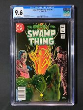 Saga of the Swamp Thing #9 CGC 9.6 (1983) - Newsstand Edition
