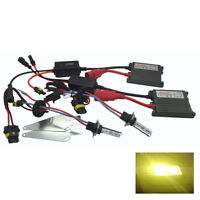 Front Fog Light H1 Pro HID Kit 3000k Yellow 55W Fits Ford RTHK2894