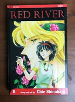 RED RIVER Volume 8 Chie Shinohara Viz Media manga Mature Content Shojo OOP Rare