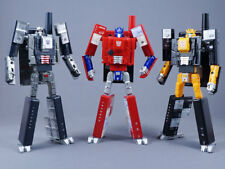 au dsesign project INFOBAR Transformers Optimus Prime & Megatron & Bumblebee set