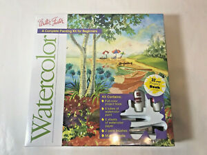 Walter Foster Watercolor Painting Kit Complete Kit for Beginners NEW SEALED