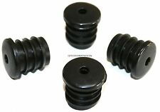4x HANDLEBAR BUNGS END BLACK CAPS PLUGS FOR RACER ROAD BIKE ATB BICYCLE BUNG