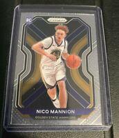 2020-21 Panini Prizm Nico Mannion Rookie #293 Golden State Warriors RC