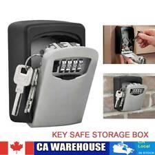 4 Digit Password Combination Key Lock Wall Mount Box Safe Security Storage Case