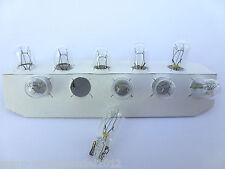 (0,46€/Einheit) 10x NARVA® 24V 5W W5W Sockel W2,1x9,5d Glassockel Standlicht