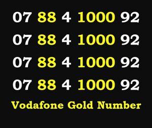 Mobile Gold Number Easy Vip Sim Card Platinum Business Phone Memorable Diamond