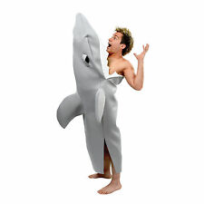 "Mens Shark Bite Costume 42"" - 44"" Chest Fancy Dress Costume"