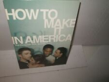 HOW TO MAKE IT IN AMERICA - FIRST SEASON dvd NYC Fashion  BRYAN GREENBURG Mint