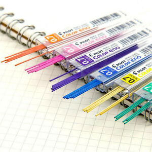2 Box Lead Refills Tube 0.7mm with Case for Mechanical Pencils Student 11 Colors