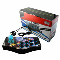 New 2 in 1 Fighting Stick Arcade Game Joystick Fighter Controller for PC PS2 PS3
