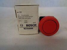 NEW BOSCH D1B1R MUSHROOM PUSH BUTTON OPERATOR-RED