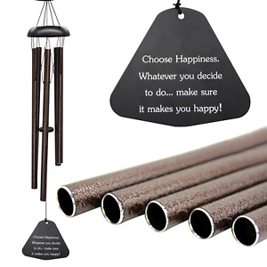 """Sympathy Wind Chimes Outdoor Large Deep Tone,36"""" Large Wind Chimes Outdoor Tuned"""