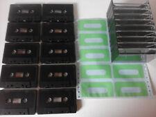 Musikkassetten C 8 Unbespielt 8er Pack Audio BASF Chrom II