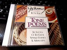 Tone Poems Vol 1 by David Grisman & Tony Rice (CD SIGNED! AUTOGRAPHED by David