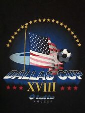 Vintage Dallas Cup Lotto Soccer Corner Plano Sports Texas Football T Shirt L
