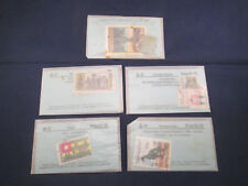 Collection of 5 Packets of various International Stamps Rb1