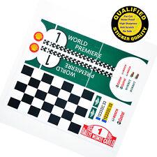 Custom sticker for LEGO 10242 Mini Cooper(World Version), sticker only.