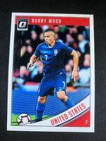 2018-19 Panini Donruss Optic Soccer Bobby Wood United States USA USMNT #169