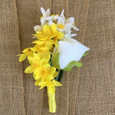 Wedding Boutonniere, Prom Boutonniere, Homecoming and Quinceanerra Boutonniere