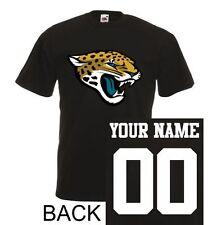 Jacksonville Jaguars T-Shirt JERSEY NFL Personalized Name Number Team Football