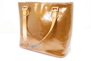 Authentic Pre-owned Louis Vuitton Vernis Bronze Houston Tote Bag M91122 200159