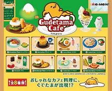 Miniatures Sanrio Gudetama Cafe complete set  - Re-ment   ,   #4ok