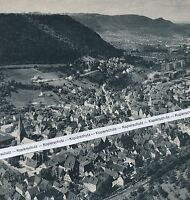 Geislingen an der Steige - Fünftälerstadt - Göppingen - um 1965 - selten J 27-3