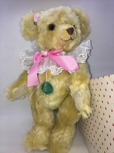 """Made in Germany HERMANN Limited Edition YES NO  Bear  12"""" Mohair Teddy Bear"""