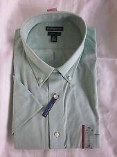 New $36.00 - CROFT & BARROW Quality Men Green Shirt  Size: M 15 1/2-16