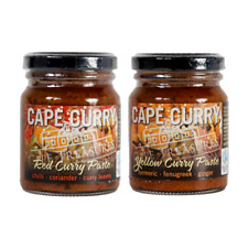 Cape Treasures Curry Paste - Red and Yellow - 2 x 125ml