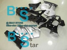 Black Glossy RVF Fairing Bodywork Plastic Kit Fit Honda RVF400 1994-1998 04 D2
