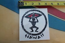 Bear Surfboards Hawaii Tiki Native Surfer Big Wednesday Shapes Surfing STICKER