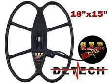 FREE SHIPPING Detech SEF 18x15 search coil for Minelab Musketeer